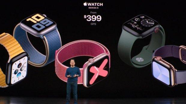 Apple Watch Series 5 heeft scherm dat altijd aan staat
