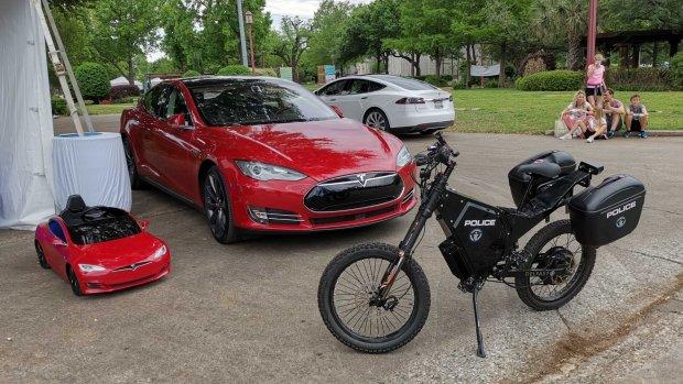 Deze e-bike is voor de politie