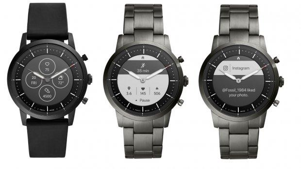 Fossil onthult analoge smartwatch met e-inkscherm