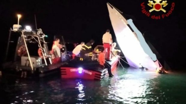'Nederlander onder doden bootongeluk Venetië'