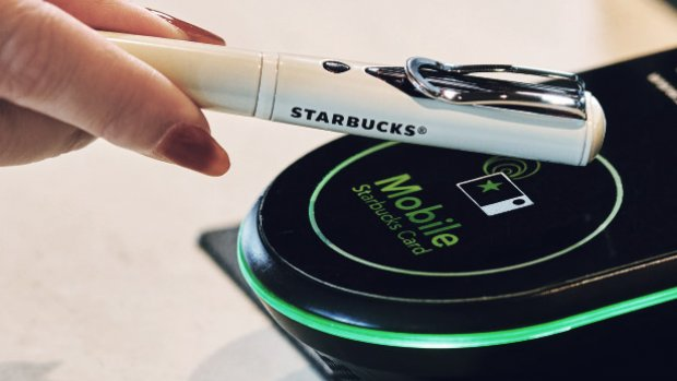 Koffie afrekenen met je pen: Starbucks verkoopt 'betaalpen'