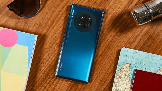 Huawei onthult Mate 30-telefoons met vier cameralenzen
