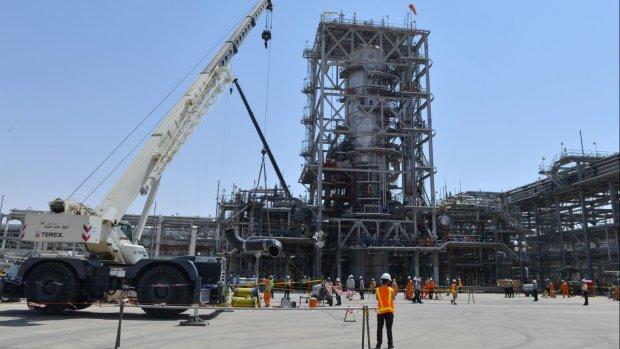 Saudi Aramco: olieproductie grote installatie snel weer op peil