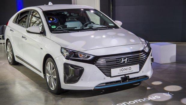 Test zelfrijdende Hyundai op openbare weg