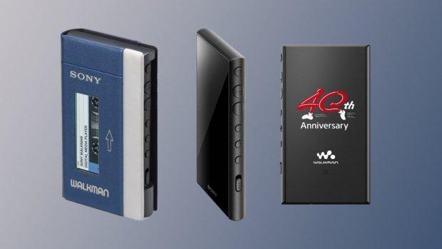 Nieuwe Sony Walkman ziet eruit als het eerste model
