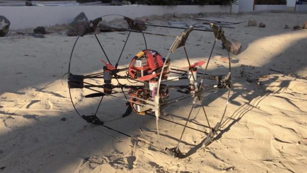 NASA ontwikkelt transformer-drones