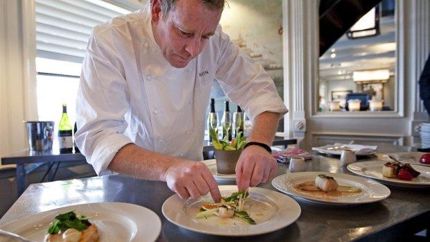 Hudson's Bay mag restaurant Ron Blaauw niet op straat gooien