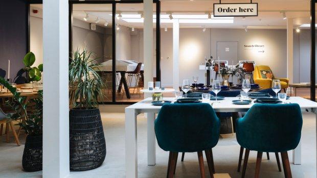 Meubelshowroom voor de digitale generatie