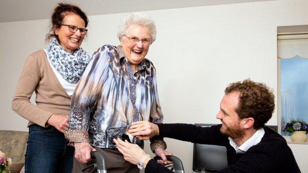Heupairbag moet botbreuken bij ouderen voorkomen