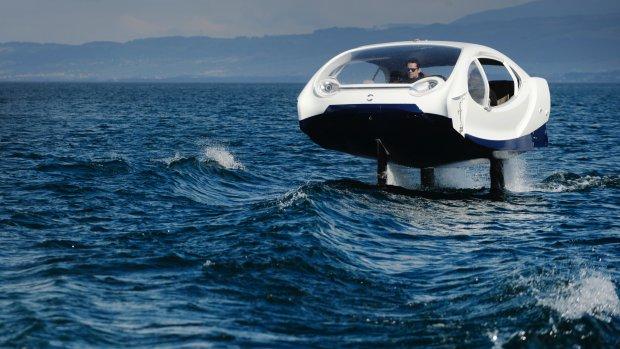 Vliegende watertaxi van start in Parijs
