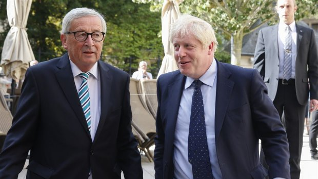 EU sceptisch over laatste brexitplan Johnson