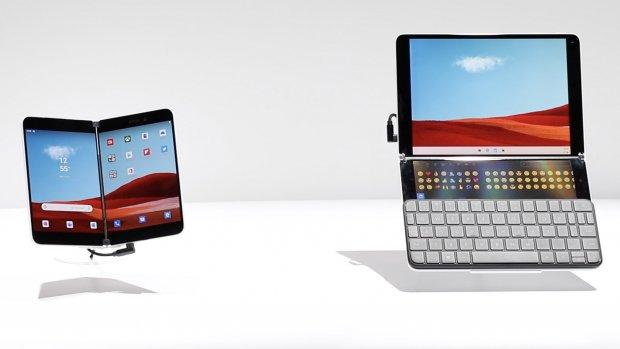 Eerste indruk: Microsoft stort zich op dubbele schermen