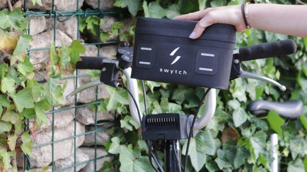 Deze kleine ombouwkit maakt van je fiets een e-bike
