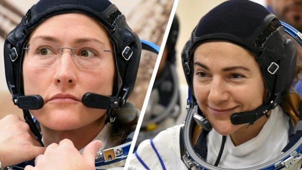 NASA stuurt tóch eerste vrouwelijk duo de ruimte in