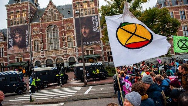 Vandaag weer acties door klimaatactivisten Extinction Rebellion
