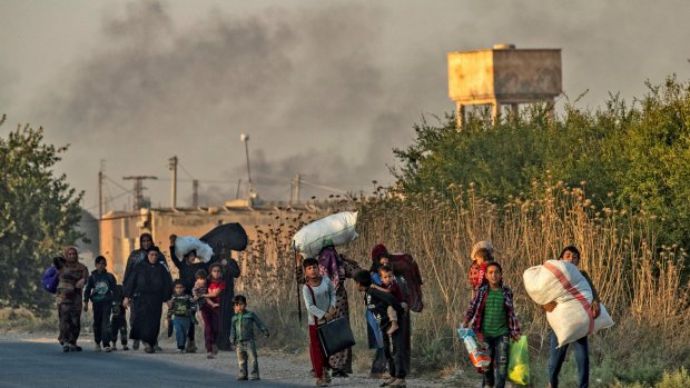 Doden bij Turkse aanval in Noord-Syrië, burgers op de vlucht