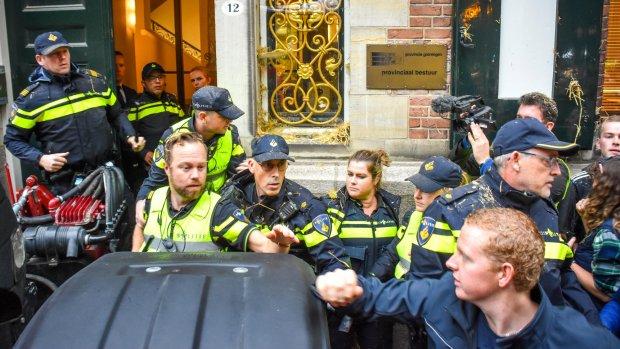 Drie verdachten boerenprotest Groningen weer vrij