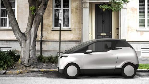 Zweedse elektrische mini-auto nu te bestellen