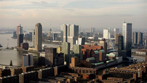 Rotterdam gaat nog hoger bouwen, tot een plafond van 250 meter