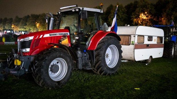 Teruglezen: boeren demonstreren op Malieveld in Den Haag