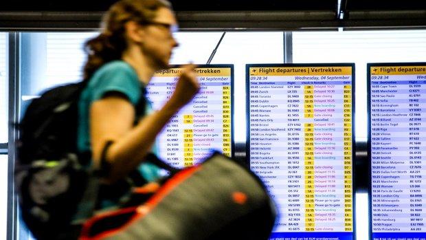 Mogelijk vertraging door stakend personeel KLM
