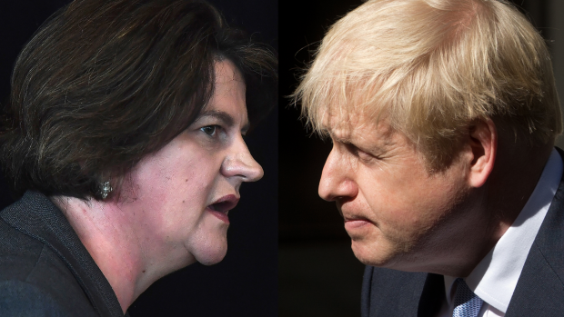 Hoe een kleine Noord-Ierse partij de brexitdeal kan dwarsbomen