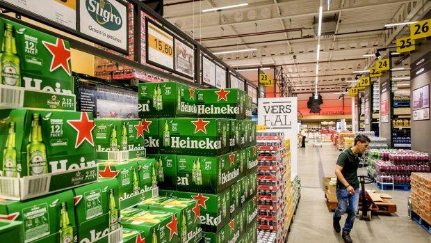 Afstraffing voor Sligro dat nog niet profiteert van Heineken-deal