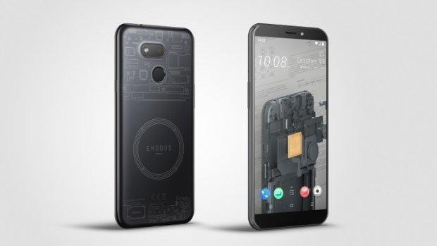 HTC presenteert goedkopere blockchaintelefoon