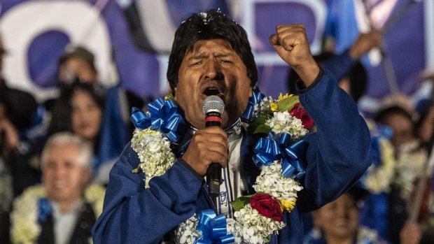 Boliviaanse ex-president Morales krijgt asiel in Mexico