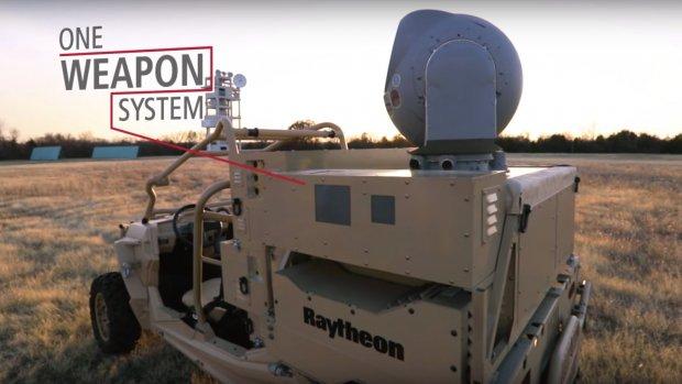 Luchtmacht VS gebruikt laserwapen tegen drones