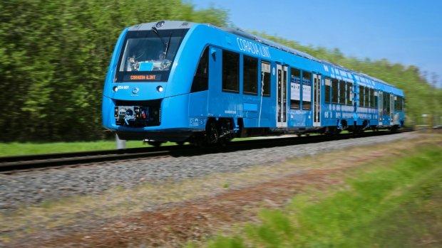 Eerste waterstoftrein debuteert tussenGroningen en Leeuwarden