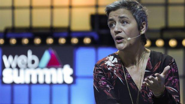 Vestager waarschuwt techbedrijven: opknippen is een optie