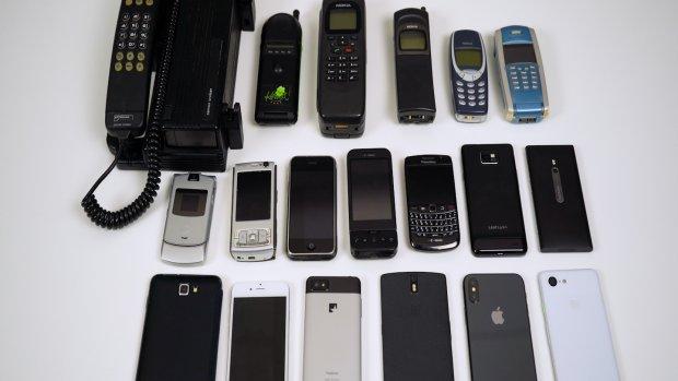 Mobile Hall of Fame: het beste van 30 jaar mobiele telefoons