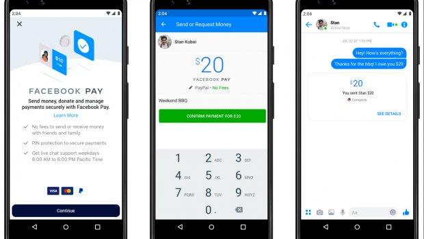 Facebook Pay laat je betalen via WhatsApp, Instagram en Facebook