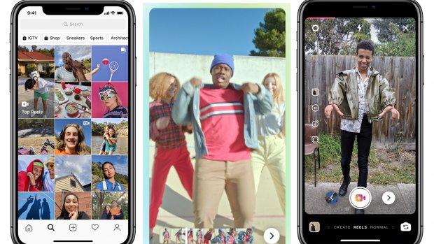 Instagram test TikTok-kloon in app