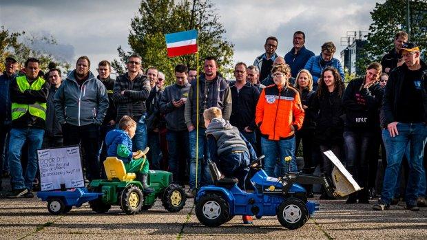 Boeren mogen aan tafel met Rutte, maar demonstratie gaat door
