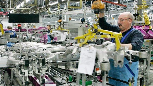Duitse economie ontsnapt op nippertje aan recessie
