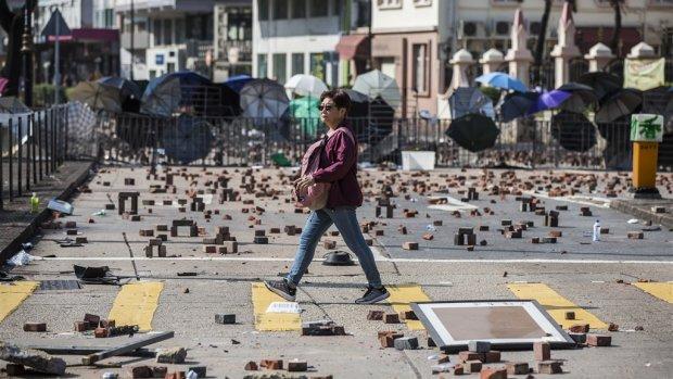 Hongkong stevent af op eerste recessie sinds kredietcrisis