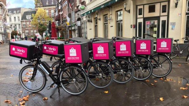 Venlose bezorgdienst wil Zuid-Nederland veroveren