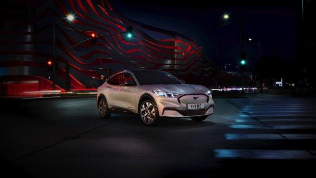 Ford onthult elektrische Mustang als Tesla-concurrent