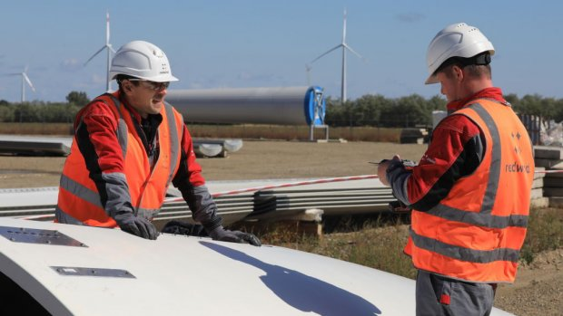 Windparken profiteren van steeds hardere wind