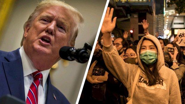 Trump tekent wet die protesten Hongkong steunt, relatie met China onder druk