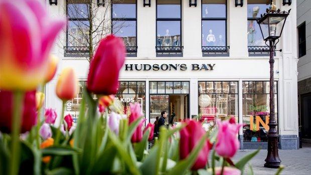 Strijd om winkelpanden Hudson's Bay is losgebarsten