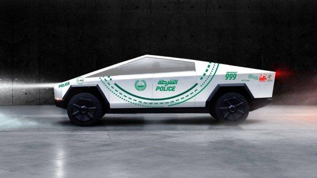 Politie van Dubai krijgt Tesla Cybertruck
