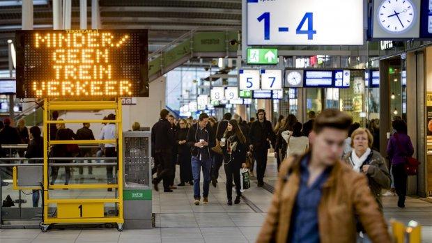 Brabanders moeten vaker wachten op de trein dan de rest van Nederland