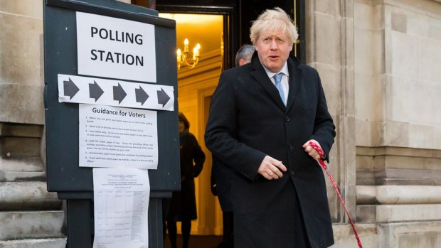 Exitpoll: Conservatieven winnen verkiezingen met grote meerderheid, brexit kan doorgaan