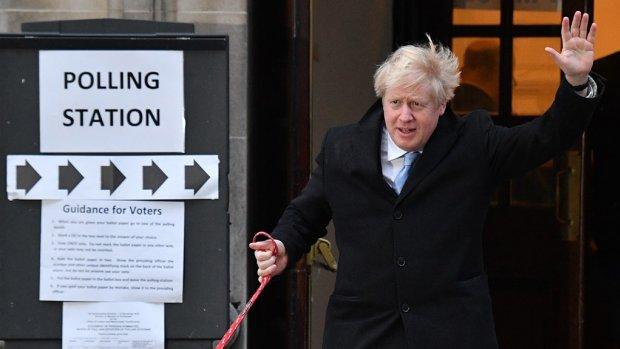 Johnson heeft absolute meerderheid, weg vrij voor zijn brexit