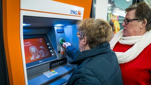 Negatieve rente voor miljonairs bij ING: -0,5 procent