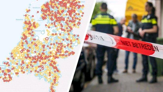 Hoe crimineel is jouw woonplaats? Check het hier
