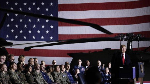 Strijdtoneel in de ruimte: Trump geeft startsein voor Space Force